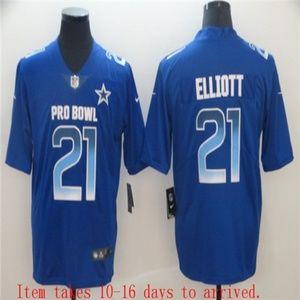 Dallas Cowboys Ezekiel Elliott Jersey blue